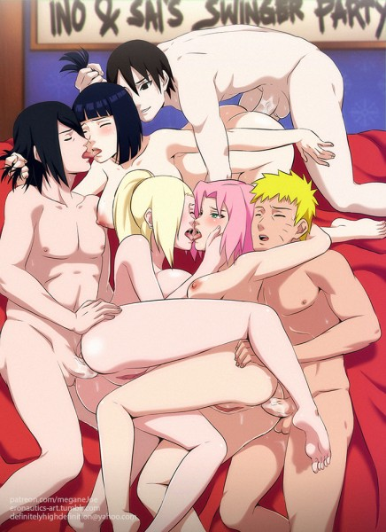 Ino and Sai's Swinger Party