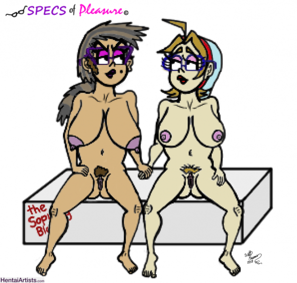 ''Specs of Pleasure'' (Kate and Beth) Hold my Hand...